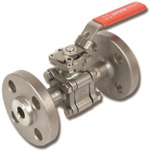 3-pc flange ball valve, ANSI1500