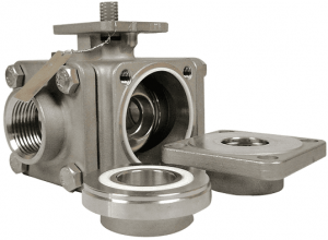 505T, in-line repairable multi-way ball valve