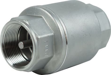 710C, spring loaded check valve