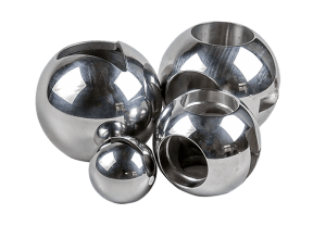 V-ball or T, L-port ball, stainless, Zipson valve