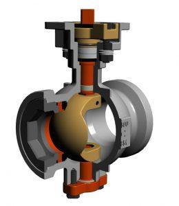 segment valve, 136W, soft seated, Zipson